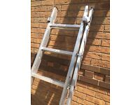 5 way combination ladders stairwell, step, extension professional