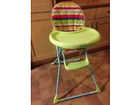 Mothercare Charlie high chair
