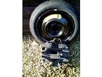 FORD B MAX SPARE WHEEL AND JACK