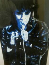 Elvis Presley oil painting