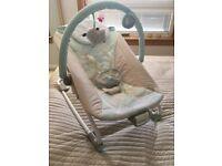 Baby rocking bouncer seat