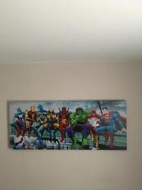 Marvel canvass