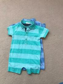 6-9 months baby summer suits