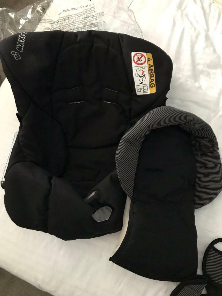 Maxi Cosi CabrioFix replacement car seat covers in Raven | in ...