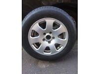 195/65 R15 tyre and rim