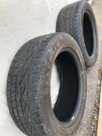 General Grabber Tyres 235/55 18