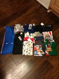 Boys Clothing Bundle Aged 6/7-7 mostly Next all NEW WITH TAGS Totally £150