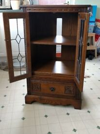 Old Charm Hi Fi Cabinet. Very Good Condition. Wood Brothers.