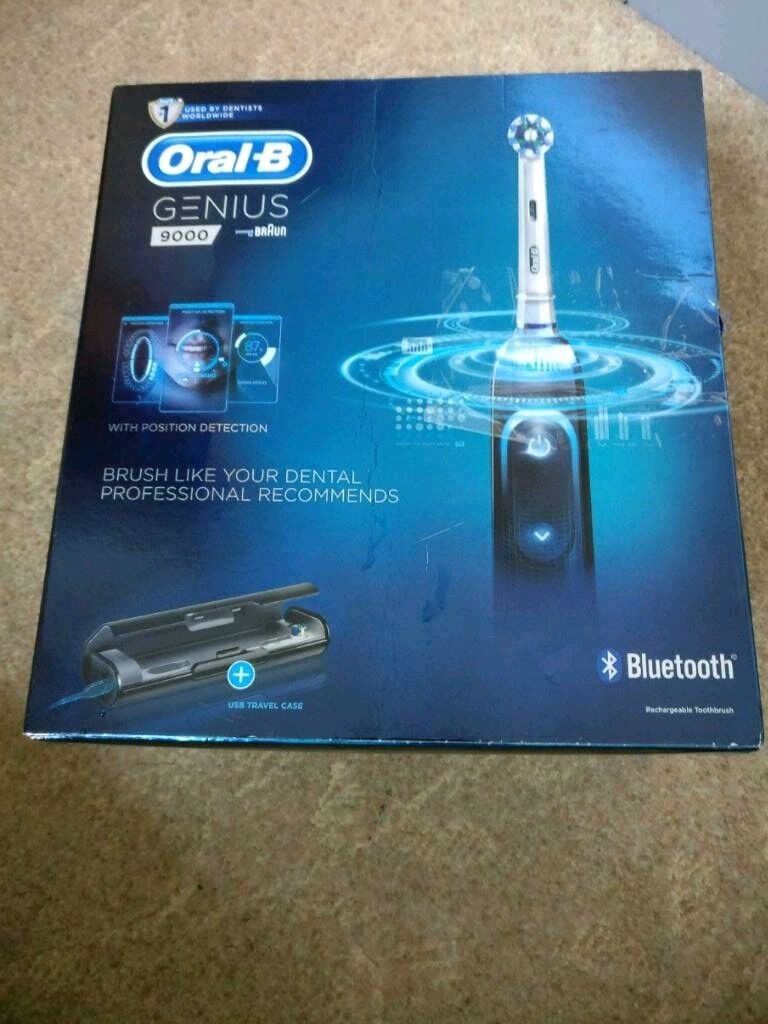 Oral B Genius 9000 Electric Toothbrush   in Fallowfield, Manchester   Gumtree