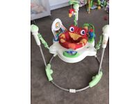 Fisher Price Rainforest Jumperoo Baby Activity Centre