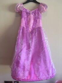 Disney princess dress - Rapunzel age 7-8