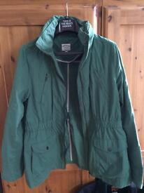Ladies Fat Face coat. 18.