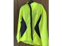 Water resistant running jacket