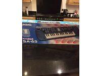 Casio Songbank Keyboard SA-65