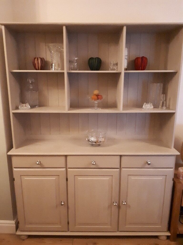 Ikea Large Sideboard Display Cabinet Painted In Annie Sloan Country Grey In Harrow London