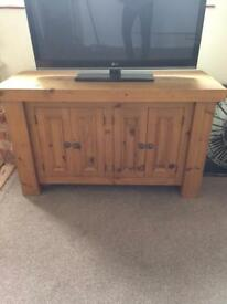 Mexican pine dresser/tv stand