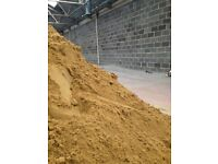 Yellow Building Sand - 25kg Bags