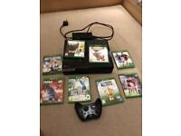 Xbox One With 8 games