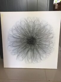 Flower Canvas Picture