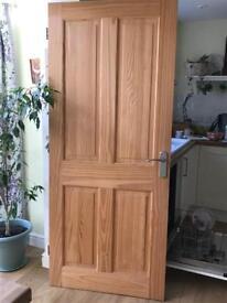 Interior solid pine door