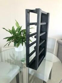 Made to measure wooden wine racks