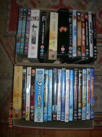 DVD BUNDLE 30 + CAR BOOT HOUSE CLEARANCE CHILDREN'S ACTION THRILLER