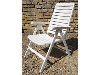 Kettler Reclining Garden Chair (Recliner)
