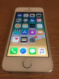 White/silver iPhone 5s ( unlocked, free delivery, more phones)