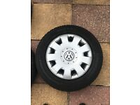 "Vw Mk golf 5x112 16"" Continental contiwinter contact"