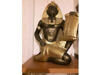 Egyptian Statue Large Stunning Scribe