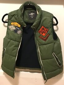 L.O.G.G puffer jacket forest green