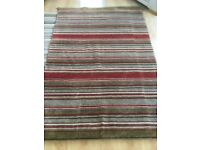 Rug-Red striped