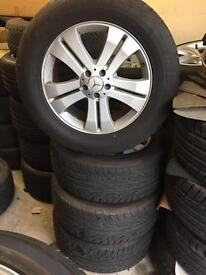 "Mercedez 19"" Alloys Genuine Very good tyres"