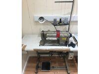 Singer lockstitch 3 phase industrial sewing machine