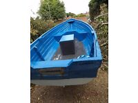 13 Foot Fishing Boat and Trailer