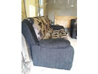 3 Seater Sofa & 1 Seater recliner