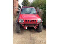 Suzuki jimny off road ready