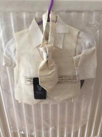 Boys Christening Suit 0-3