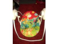 Baby swing good clean working condition