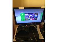 Xbox 360 Slim console w/ 2 Controllers 250GB