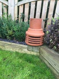 Terracotta Chimney Cowl/Chimney Pot