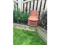 Terracotta Chimney Cowl/Chimney Pot