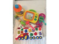 Selection of fully working clean toddler toys