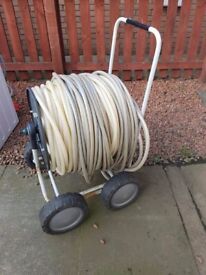 Hose cart and cable