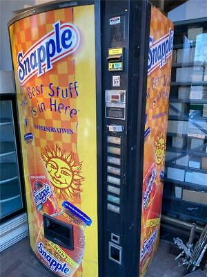 Dixie Narco Pepsi Snapple Dncb Refrigerated Vending Machine - Pickup Nj