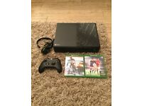 Xbox one 500gb with battlefield 4 and Fifa 16