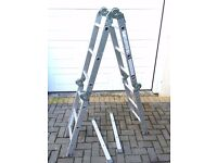 12 Way Combination Ladder With Platform