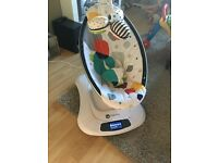 Immaculate mamaroo multi plush rocker from clean smoke free home