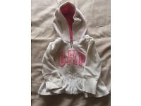 Baby Gap hoody age 3-6 months for girls