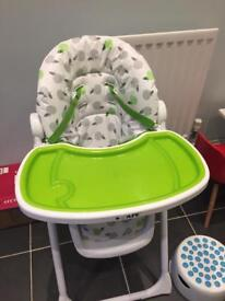 I-safe apple highchair